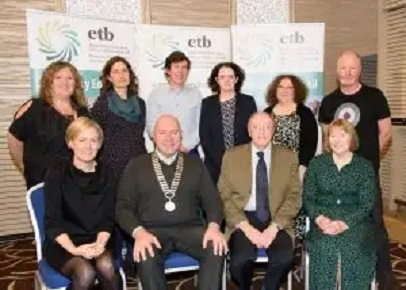 ETB staff and speakers at the annual Community Education Seminar of Donegal