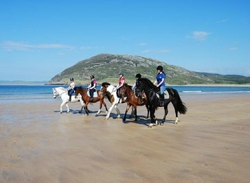 Tullagh Bay Equestrian Centre in Donegal